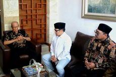 Baru Jadi Ketua MPR, Cak Imin Silaturahmi ke Buya Syafii Maarif