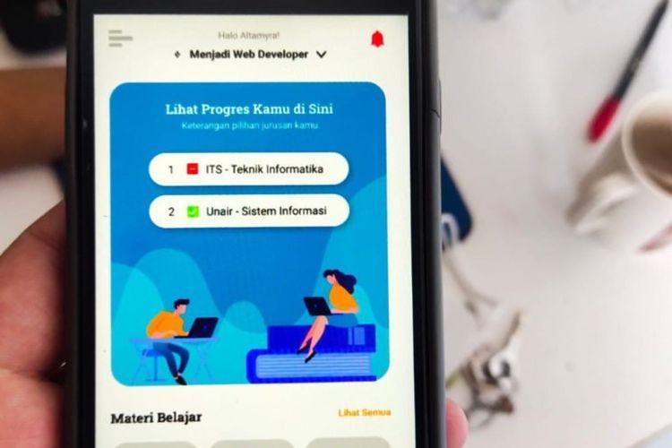 Platform Sanggar Edukasi karya Mahasiswa ITS