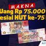 INFOGRAFIK: Makna Uang Rp 75.000 Spesial HUT Ke-75 RI