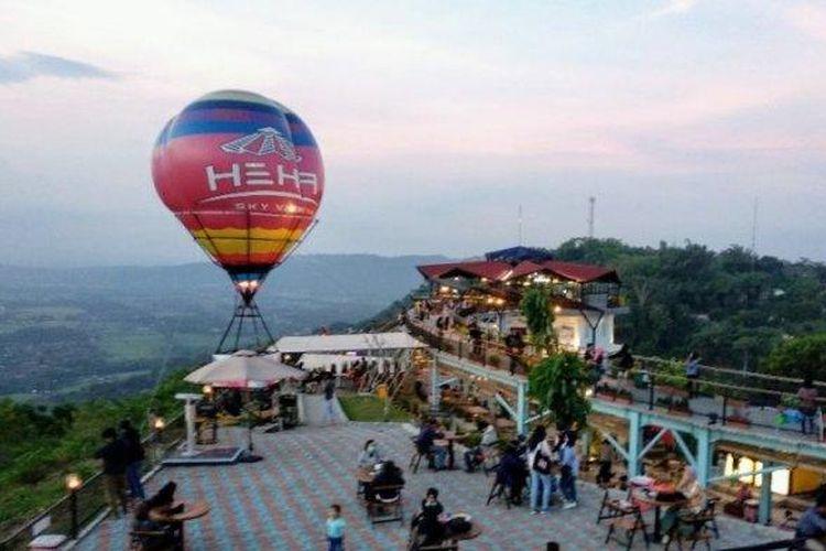 HeHa Sky View di Bukit Bintang, Yogyakarta.