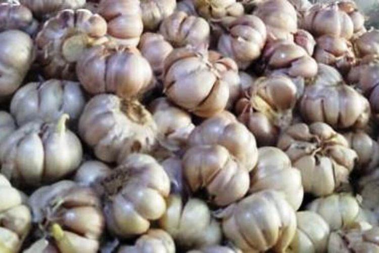 Melambungnya harga bawang putih di CIanjur, Jawa Barat disinyalir ulah spekulan yang mempermainkan harga dan imbas dari virus Corona