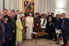 Bertemu Paus Fransiskus, Katib Aam PBNU Bahas Konflik Antar-Agama