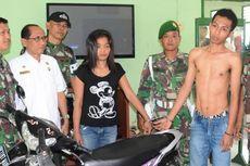 Curi Motor di Asrama TNI, Sepasang Kekasih Ini Dihajar Massa