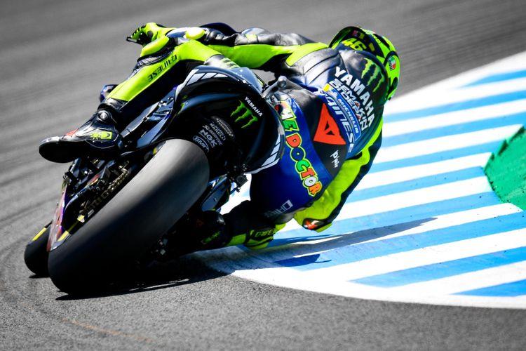 Valentino Rossi tercecer ke belakang dan akan start dari posisi ke-13 di Jerez, Spanyol.