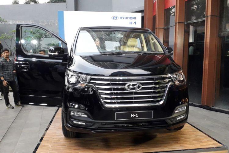New H-1 2018 yang diperkenalkan Hyundai Motor Indonesia di Jakarta, Selasa (3/7/2018).