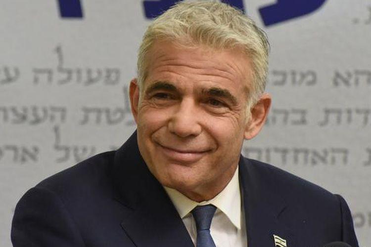 Pemimpin koalisi oposisi Israel Yair Lapid. [Via DW INDONESIA]