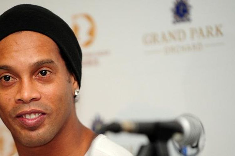 Pemain asal Brasil, Ronaldinho.