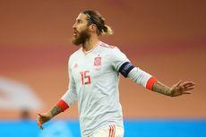 Belanda Vs Spanyol, Sergio Ramos Dimainkan Hanya untuk Rekor