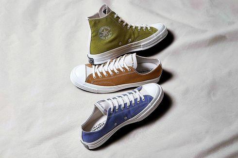 Intip Sneakers Converse Daur Ulang yang Dipamerkan Menteri Susi