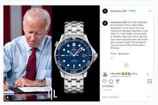 Jam Tangan Joe Biden dan Cermin