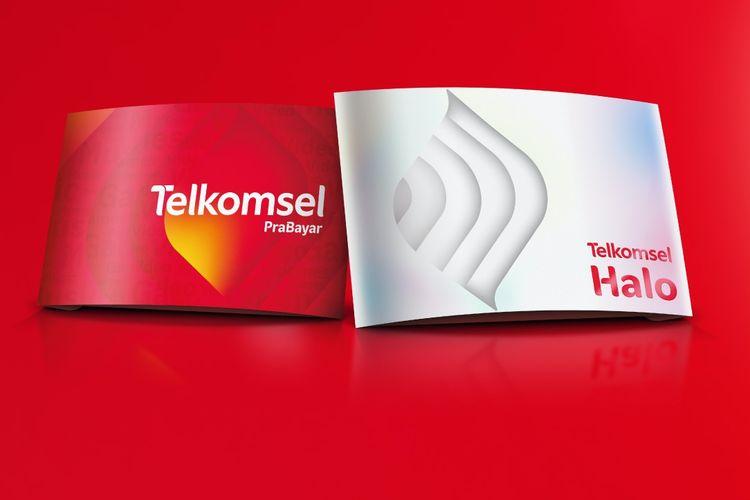 Dua layanan Telkomsel PraBayar dan Telkomsel Halo.