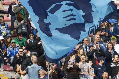 Resmi, Markas Napoli Berubah Nama Jadi Stadion Diego Armando Maradona