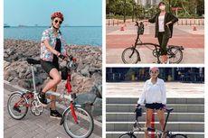Ini 8 Artis yang Pakai Sepeda Brompton dengan Harga Fantastis