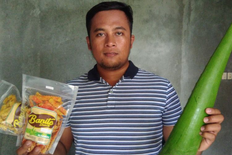 Alan Efendhi (31) Warga Dusun Jeruk Legi, Desa Katongan, Kecamatan Nglipar, Gunungkidul, Mencoba