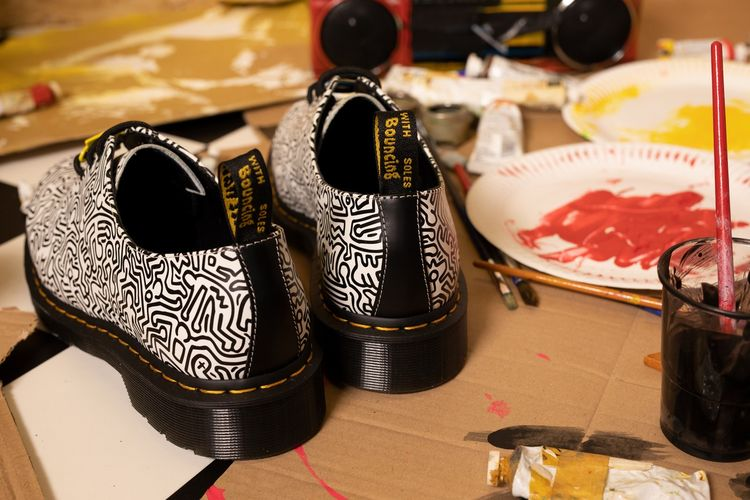 Keith Haring x Dr Martens