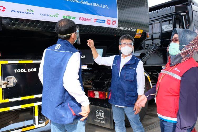 Satgas Pertamina di Trans Jawa