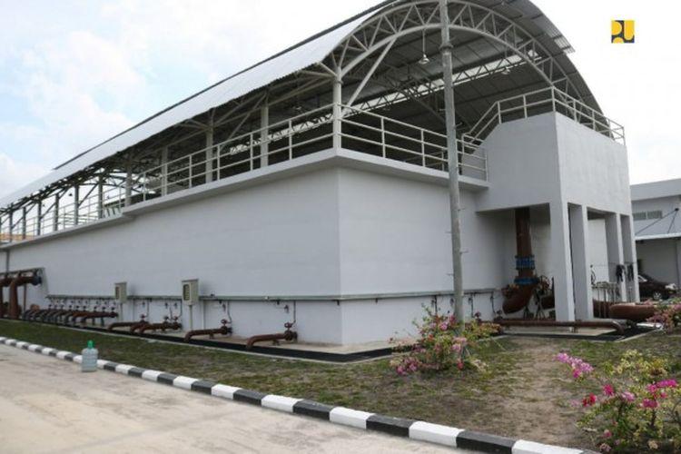 SPAM Durolis di Provinsi Riau.