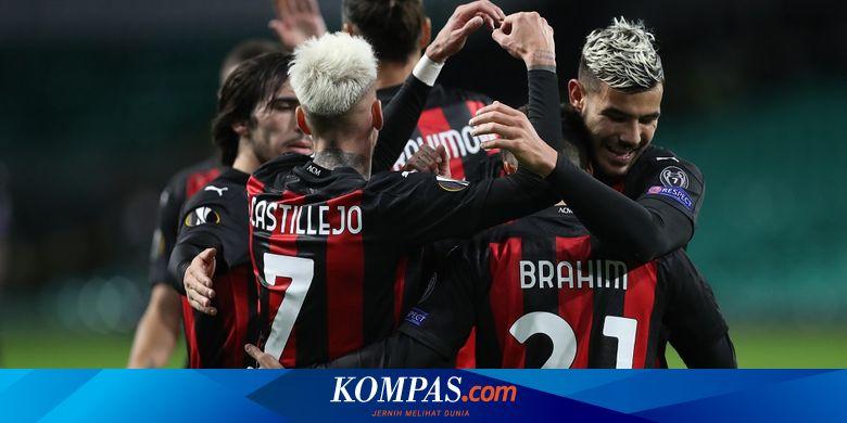 Jadwal Liga Europa Malam Ini Lille Vs Ac Milan Molde Vs Arsenal Halaman All Kompas Com