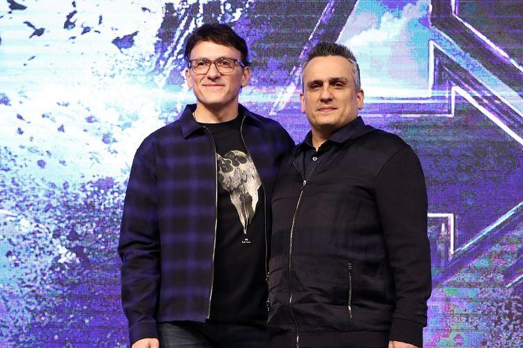 Anthony Russo dan Joe Russo menghadiri press conference film Avengers: Endgame di Seoul, South Korea, pada 15 April 2019.