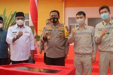 Jaga Stabilitas Keamanan, PT IWIP Terlibat dalam Pembangunan Mako Brimob Malut