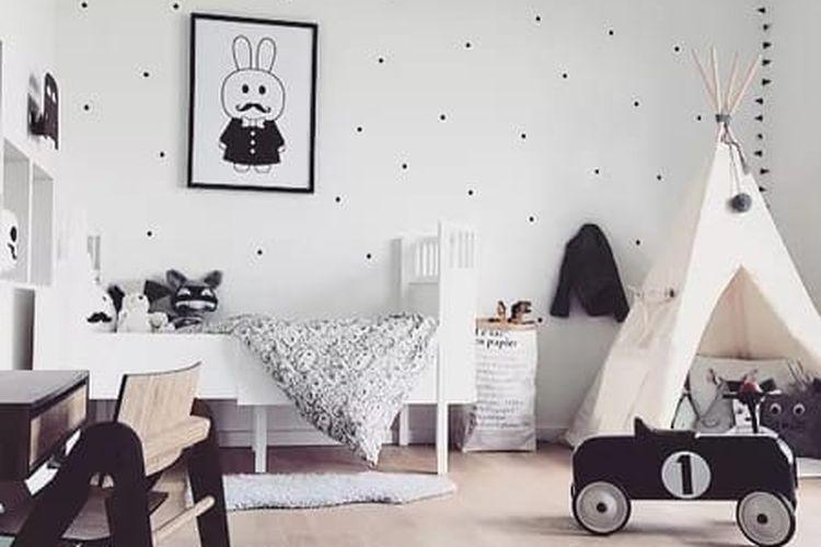 Ruang kamar ramah anak