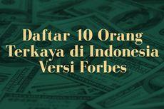 INFOGRAFIK: Daftar 10 Orang Terkaya di Indonesia 2021