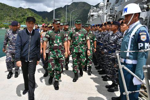 Panglima TNI: Halau Kapal Pencuri Ikan di Zona Indonesia
