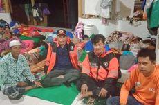 Banjir Bandang di Lombok Timur, Warga Mengungsi di Mushala