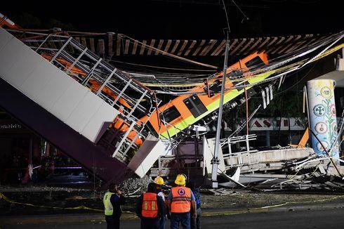 Baut Hilang Berkontribusi Akibatkan Kecelakaan Kereta Terbesar di Mexico City