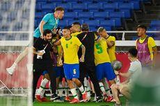 Jumlah Medali Brasil di Cabor Sepak Bola Putra Olimpiade