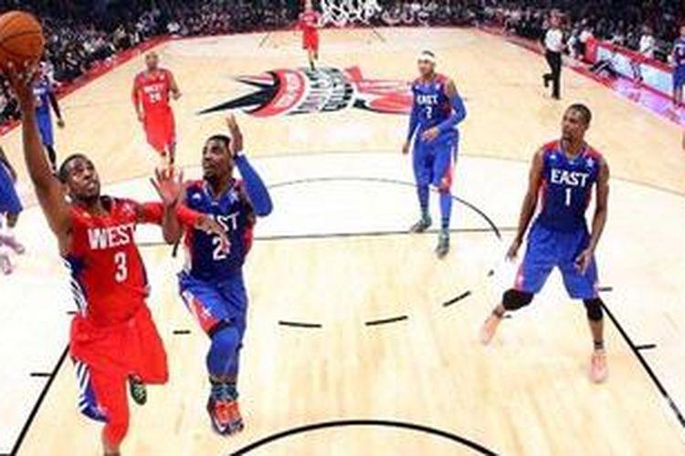 Chris Paul (kiri)  di NBA All Star