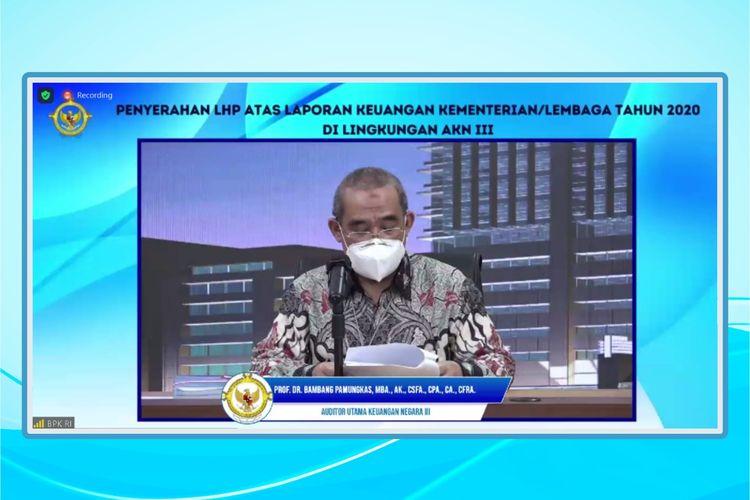 Kementerian ATR/BPN raih WTP tahun 2020