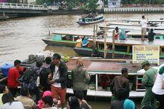 Banjarmasin-Balikpapan, Semarak di Tepi Sungai Martapura...