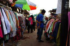 PKL yang Berjualan di Jalan Jatibaru Tanah Abang Tak Dipungut Retribusi