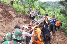 Longsor di Talegong Garut, 1 Warga Tewas Tertimbun dan 31 Orang Mengungsi