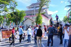 Tuntut Pembebasan 13 Warga Pengambil Jenazah Covid-19, Mahasiswa Blokade Jalan