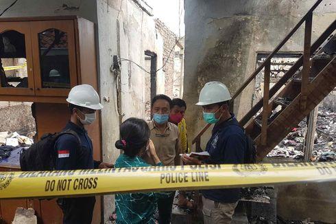 Polisi Gelar Olah TKP Kebakaran Taman Sari, Dimulai di Kontrakan yang Jadi Sumber Api