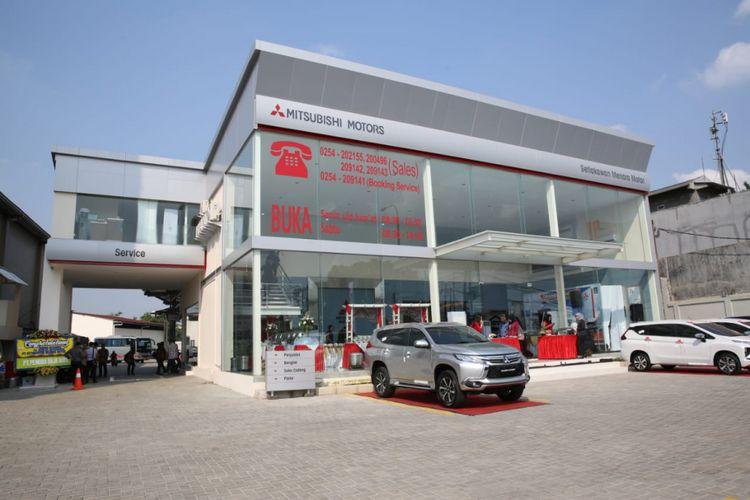 Diler Mitsubishi ke 118 hadir di Banten