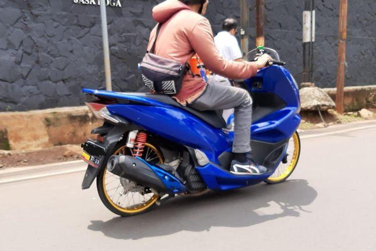 Penggunaan ban cacing untuk motor harian tidak direkomendasikan