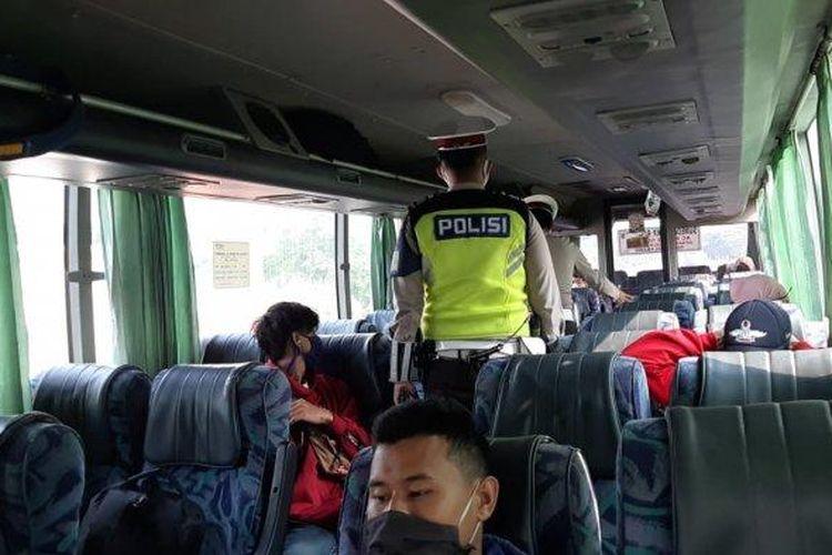 Protokol kesehatan di bus