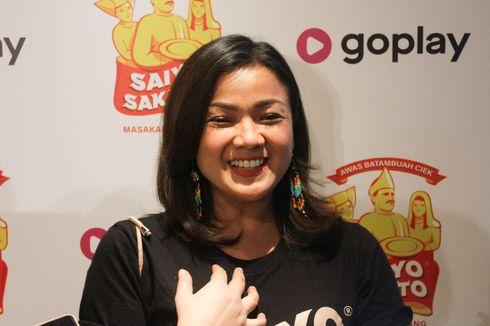 Nirina Zubir Senang Bisa Masak Itiak Lado Hijau Berkat Saiyo Sakato