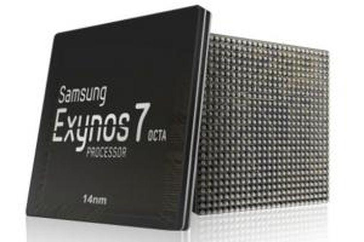 Ilustrasi chip Samsung Exynos 7