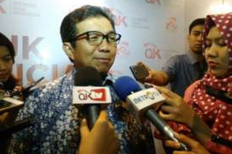 Ketua Dewan Komisioner OJK Muliaman D Hadad.