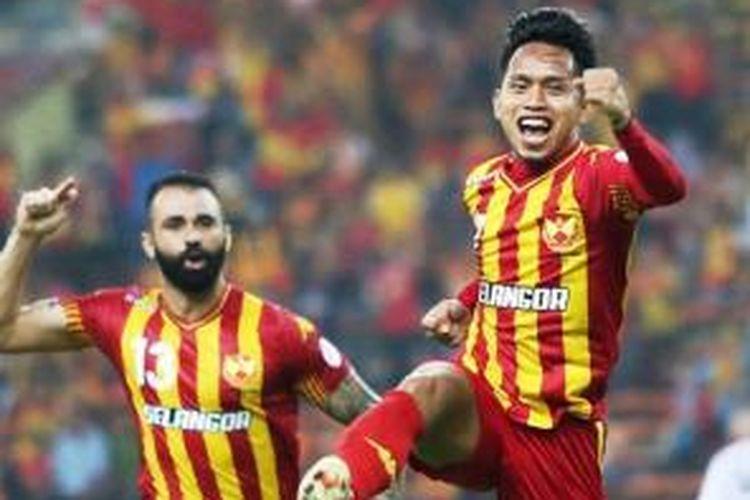 Penyerang Selangor FA, Andik Vermansah.