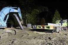 BBPJN Mulai Bongkar Material Pembangunan Jembatan Bailey di Masamba