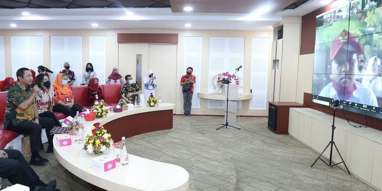 Diskusi Menjadi Hebat Bersama Generasi Baru, dalam rangka Hari Anak Nasional (HAN) Kota Semarang, Kamis (23/7/2020).