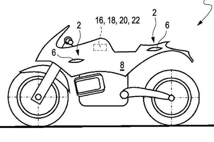 Teknologi sayap aktif BMW Motorrad