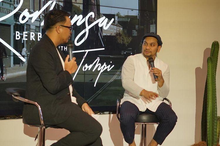 Tompi meluncurkan lagu terbarunya, Feel This Way, di Jakarta, Selasa (21/5/2019). Lagu ini dia kerjakan bersama pentolan grup musik jazz Incognito, Bluey.