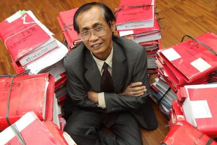 Artidjo Alkostar, Ketua Kamar Pidana Mahkamah Agung.