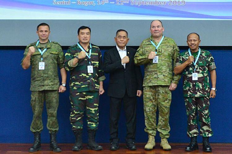 Menhan Membuka Asean Defence Ministers Meeting di Sentul
